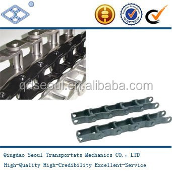 Carbon steel China Manufactory High quality Reasonable price Chain No. 667k Attachment Steel pintle chains