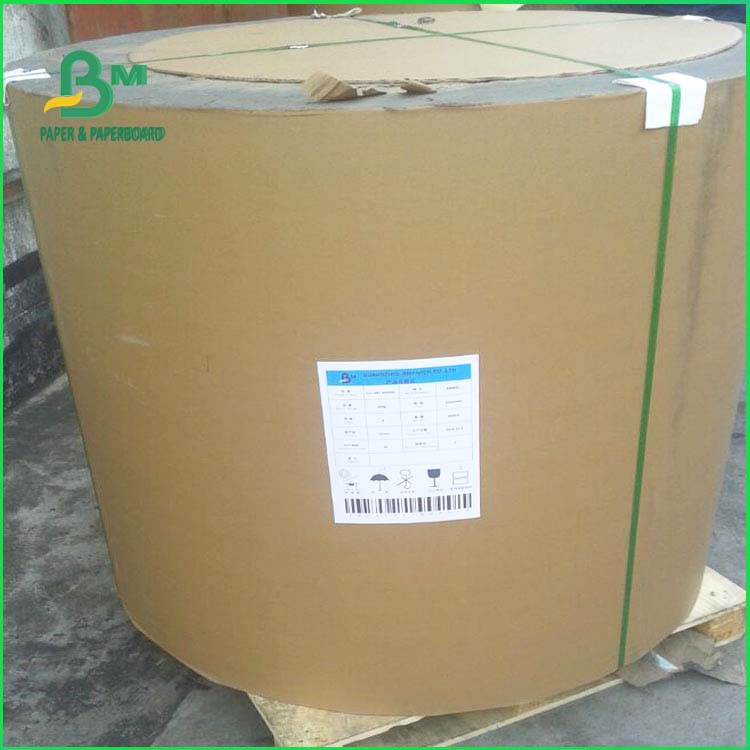 One side gloss label paper 75GSM 80GSM c1s wet strength label paper for Can Label