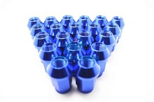 D1 Spec Racing Car Forged Wheel Lug Nuts 52mm Hot selling