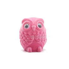 Best animal shape owl ring pendant necklace box for women