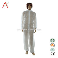 Disposable medical nonwoven surgical gown/dark blue patient gowns