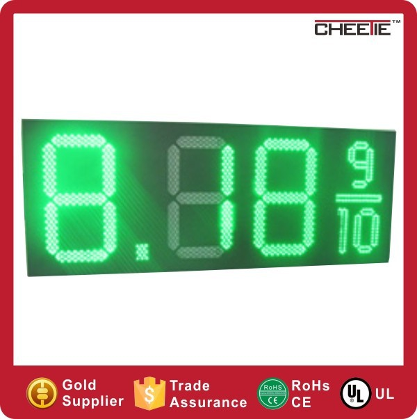 Alibaba China Gas Oil Station New Outdoor LED Digital Gas Price Display