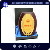 wholsale wood material and handmade type blank wooden plaques round shape