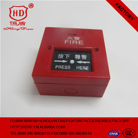 Manual Fire Alarm Call Point Fire Push Button Plistic Push Button