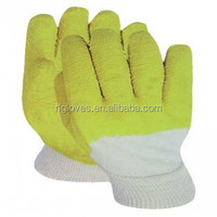 work glove en388 latex coated glass working gloves