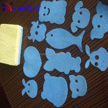 cleaning wipe cellulose sponge, closed cell sponge rubber, cloth cutting