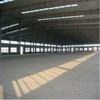 Flexible Design Steel Building Arched Roof Construction Structure For Warehouse