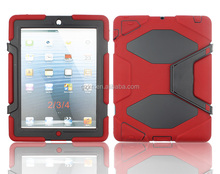 Kidsproof bumper case for iPad 3 iPad 4 9.7inch iPads cover