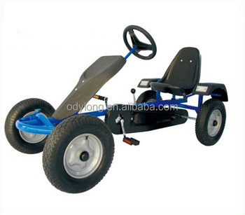 cheap single seat adult pedal go kart for sale F160A