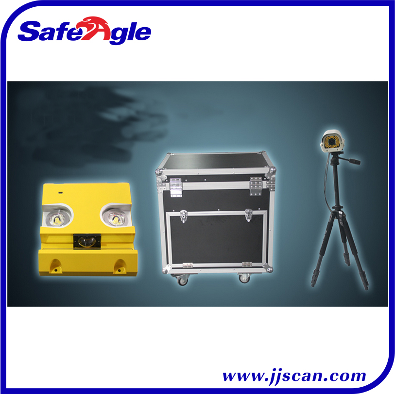 Under Vehicle Inspection/Surveillance System Faster and More Accurate Than Traditional Under Vehicle Inspection Mirror