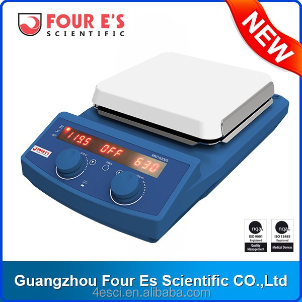 High Quality Laboratory Widely Used 7 Inch LED Digital Magnetic Hotplate Stirrer