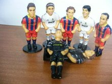 3d mini vinyl soccer star action figure toys,Custom made plastic soccer player action figure toys