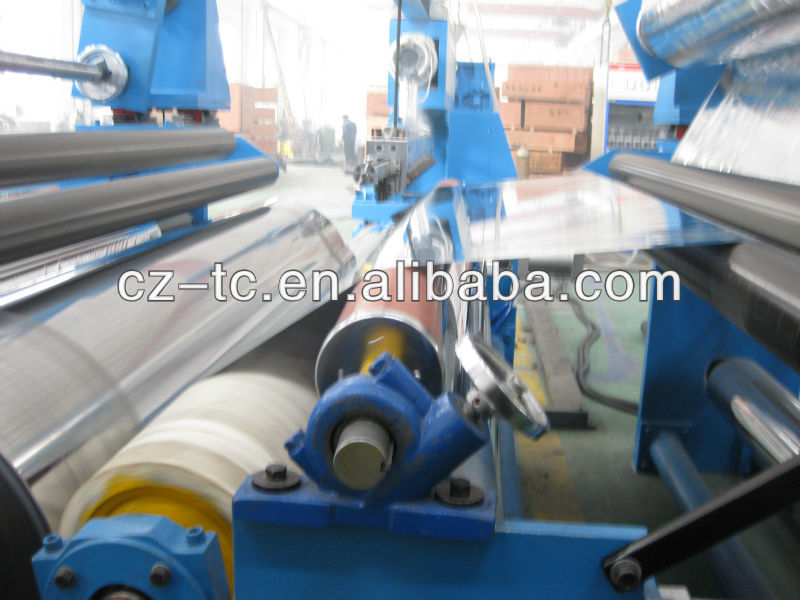 PVC/PP/EVA film laminating machine