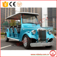 8 Seats electric recreational vehicle for sale/electric work vehicle for State Guesthouse