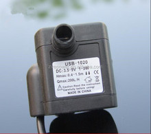 DC 5v Micro USB interface Brushless solar Submersible Water Pump for Aquarium