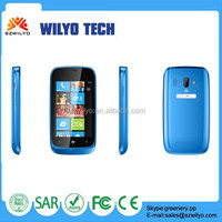 "W610 3.5"" Cheap Big Screen Lowest price China Phones MT6572 0.3MP 2.0MP Camera GSM Factory Reset Android Phone"