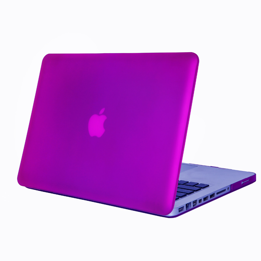 wholesales pc matt frosted dull polish hard laptop cover case for mac book pro laptop for apple macbook