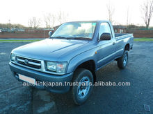 2001-Toyota Hilux 2.5 2dr Single Cab 4X4 (Silver)