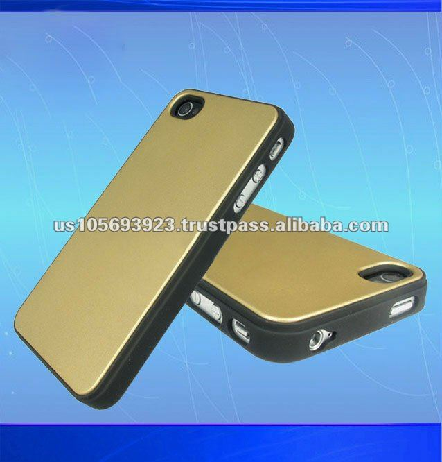 high quality product with aluminum back cover mobile phone case for iphone4g