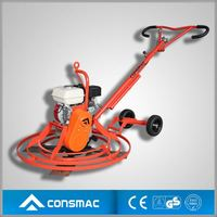 2014 CONSMAC NEW ARRIVAL walk behind concrete diesel power trowel for hot sales