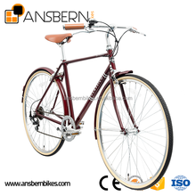 700C Hi- Ten Steel Classic Vintage Men's City Bike ASB-CB-S02 city bike bicycle for lady 26/28inch