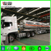 Mirror polished aluminum fuel oil diesel tank semi trailer