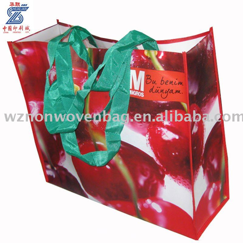 Custom PP Lamination Non Woven Fashion Bag