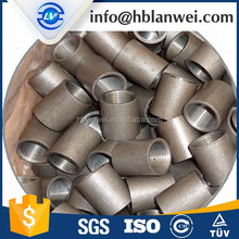 EN10241 Galvanized & Black Mild Carbon Steel thread Pipe Fiting Coupling