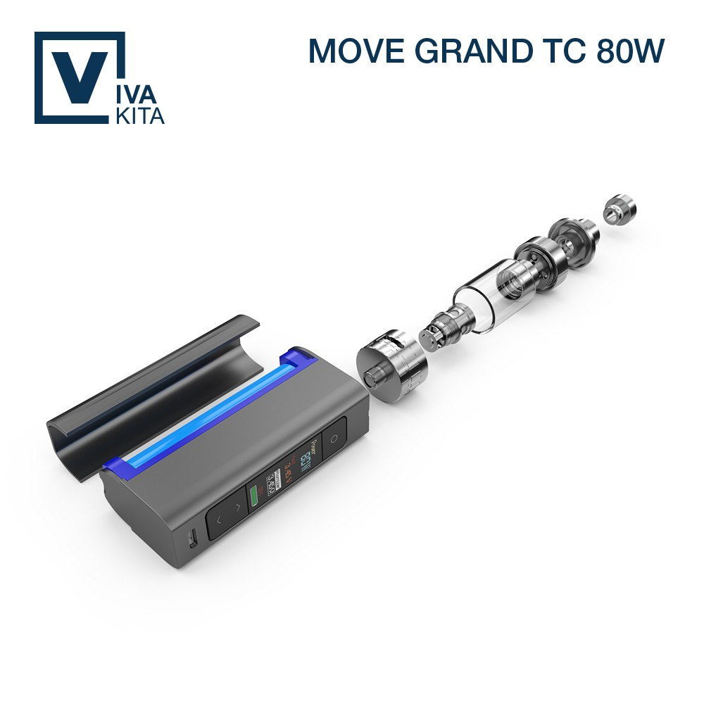 To buy electronic cigarette of China SS vap coil 80W TC unity hookah