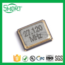Smart Bes smd Passive crystals 3225 27.12MHz 10PPM 10PF 3.2*2.5mm 4pin resonator