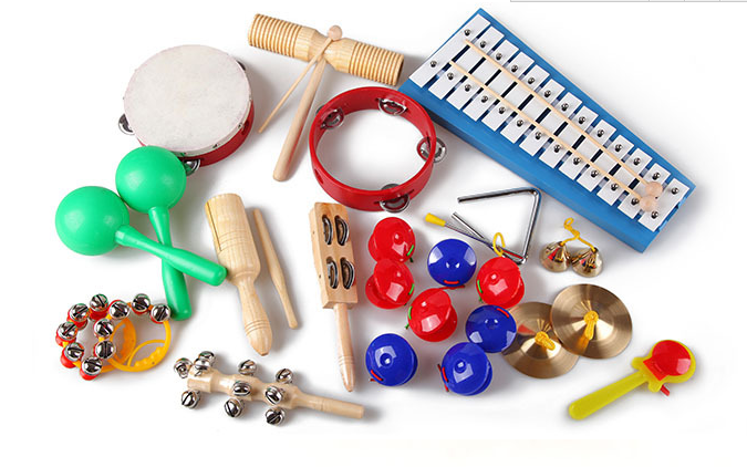 17 pcs education toy musical instrument percussion set