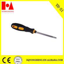 Color rubber handle Phillips Slotted Magnetic Angle Screwdriver