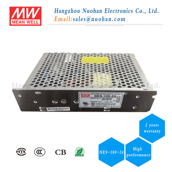 Meanwell smps NES-100-24 24v 4.5a switching power supply 100w 24v ...