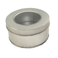all sorts of metal cookie can box cookie cosmetic tin box with pvc window