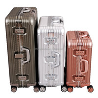 2015 Aluminum Fansion Suitcase Trolley Luggage