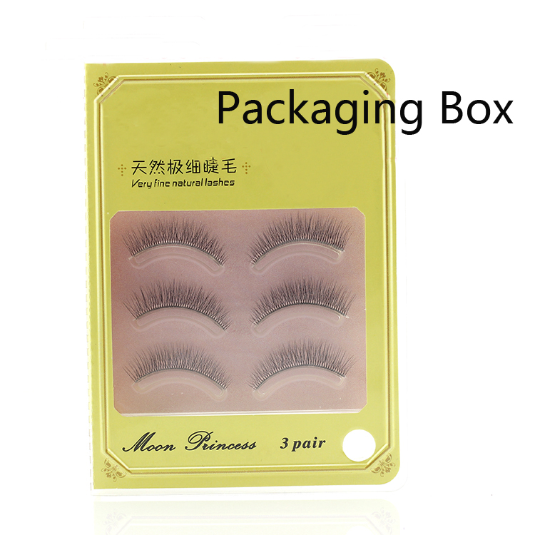 Wholesale 3d Stereo Mink Lashes With Custom Eyelash Packaging 3D-3