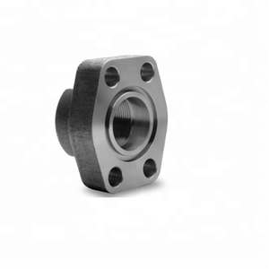 Female Thread NPT/BSP Carbon Steel 4 Bolt Flange