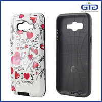 [GGIT] OEM Hybrid Case for Samsung J7, TPU PC Combo Case for Galaxy J7