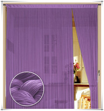 100% polyester fringe curtain for sale