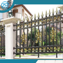 low cost aluminum art handrail/baluster design