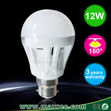 High quality 12 watt a60 globe b22 led bulbs 2835 smd Aluminium-plastic led light bulbs b22, smd led lamp 12w
