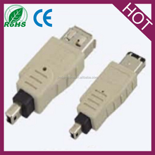 Firewire IEEE 1394a 4 Pin female to 6 Pin male Converter Adapter Changer