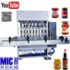 Speed adjusting cylinder feeding structure 6 nozzles liquor bottling machine for various product
