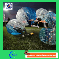 Half blue inflatable world map beach ball, human inflatable sumo ball for fun