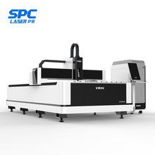 Stainless steel 1300x2500mm 1000 watt raycus fiber laser cutter