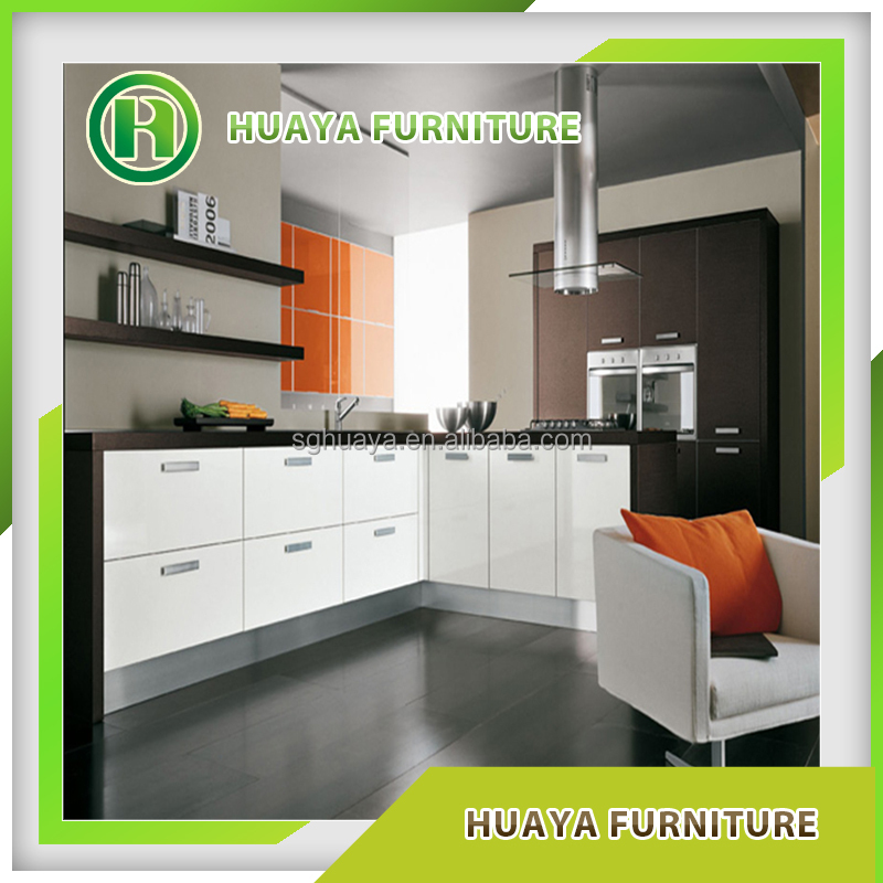2015 modern high gloss Lacquer kitchen cabinet/ kitchen furniture from Shouguang