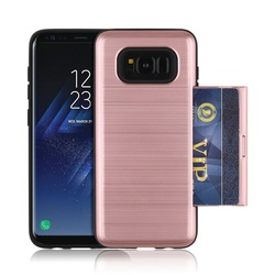 Soft TPU Hard PC hybrid Combo Case for Samsung Galaxy S8 Plus back cover