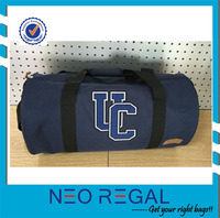 New design hot sell polyester canvas foldable gym bag