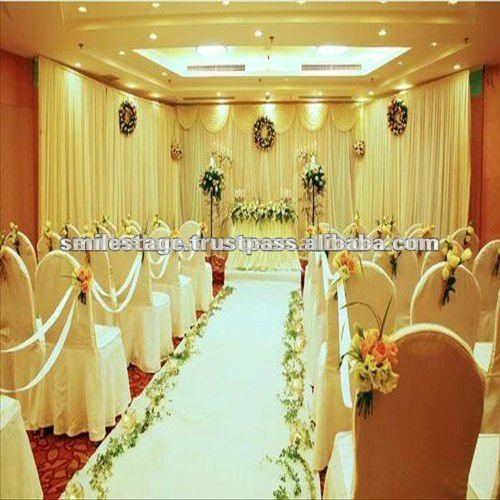 luxury wedding curtains and draperies