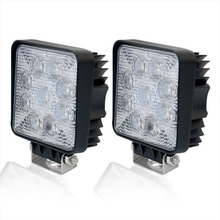 CANADA FREE SHIPPING 2PCS 45W 4Inch 4WD Truck Atv Utv Suv Car LED Work Light
